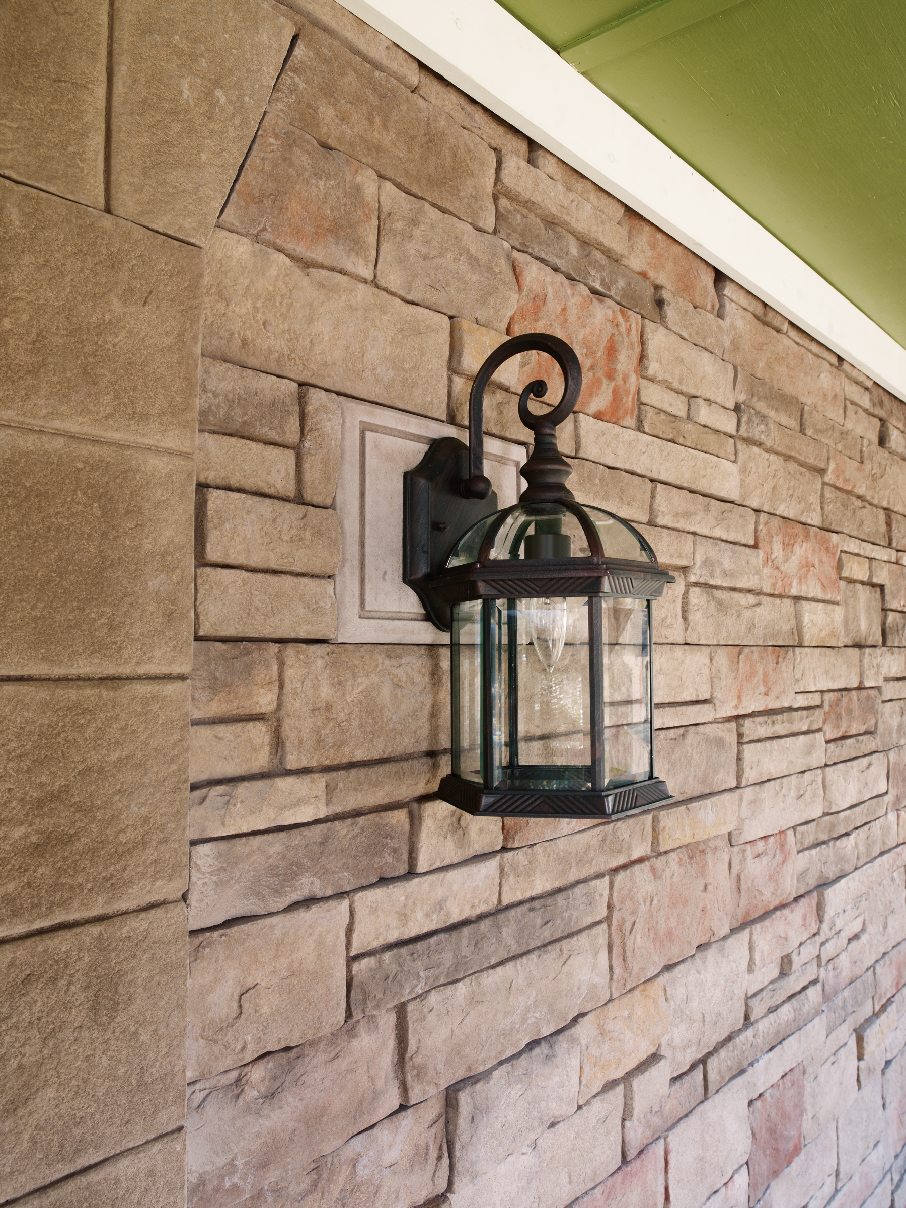 Versetta Stone Tight Cut | Terra Rosa, Light Box in Taupe
