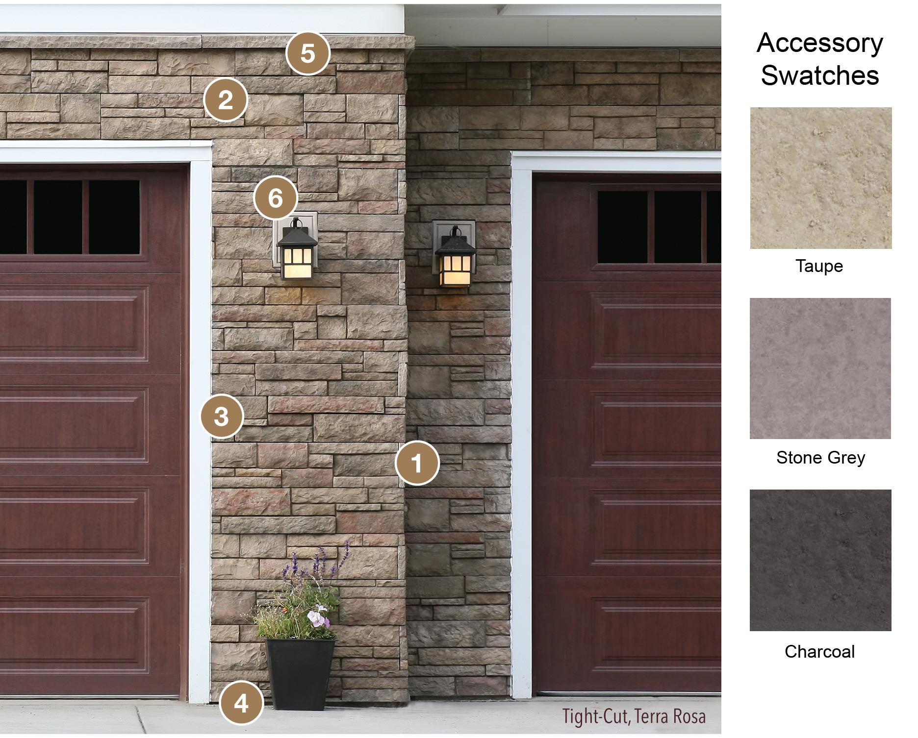 Stone Veneer Sills, Trim & Accessories | Versetta Stone