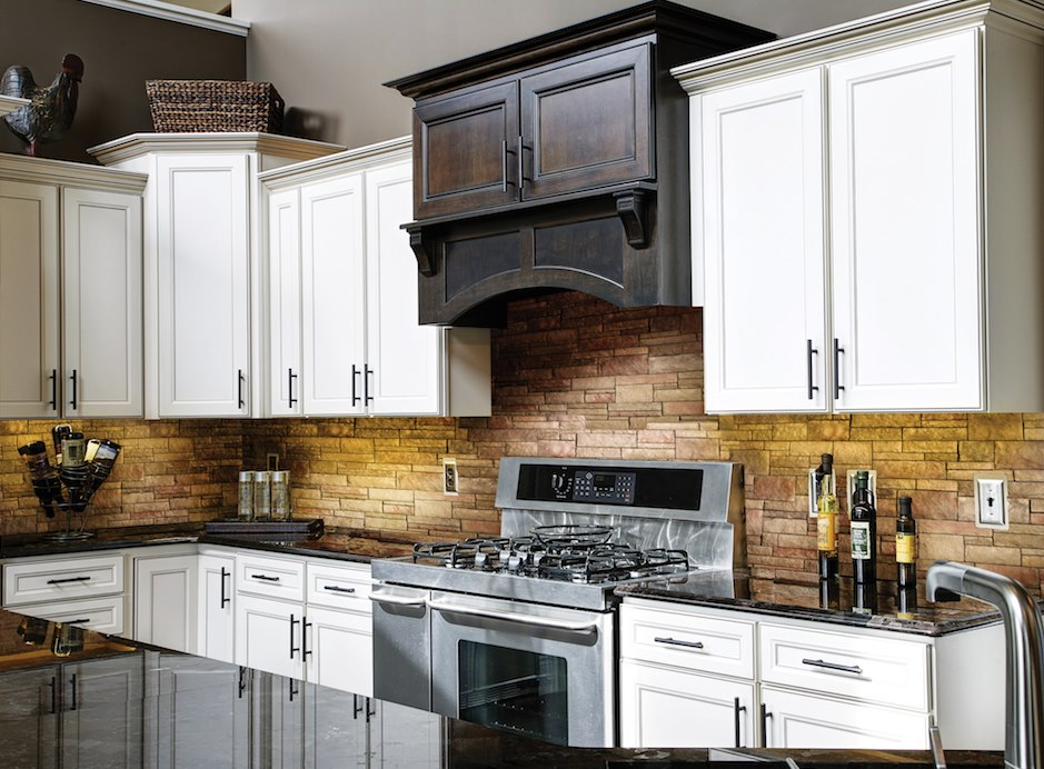 Versetta Stone stone veneer kitchen backsplash